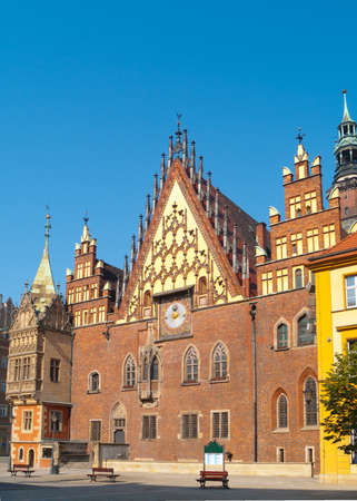 Medieval town hall of Wroclaw  Breslau , Poland Stock Photo - 13471489