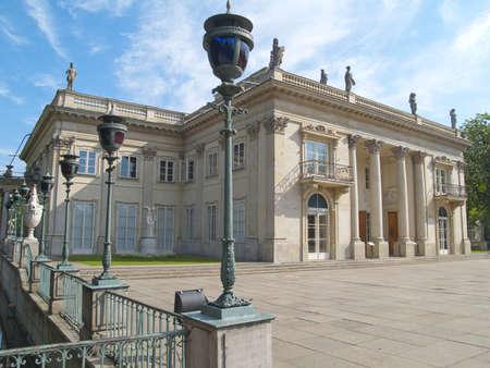 Lazenki Palast des K�nigs, Warschau, Polen