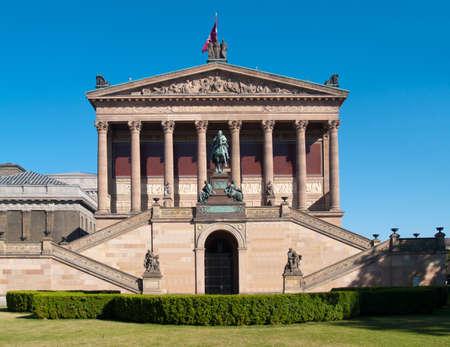 alte: Old Nationalgallery (Alte Nationalgalerie) of Berlin