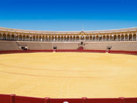 Bullfight arena of Seville, Andalusia, Spain