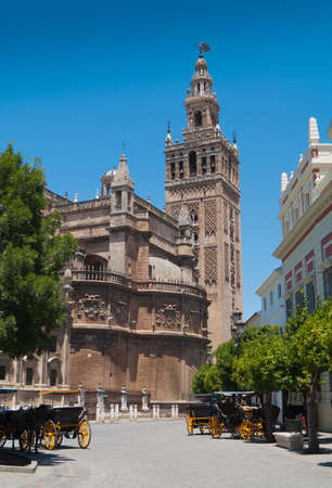 Cathedral of Sevilla (built in 1511) in Andalucia, Spain.