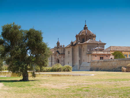 Monastery of the Cartuja  Monastery of Santa Maria de las Cuevas Charterhouse, now museum of Contemporary art , ex Ceramic tile factory Seville Spain