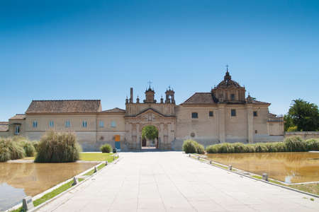 Monastery of the Cartuja  Monastery of Santa Maria de las Cuevas Charterhouse, now museum of Contemporary art , ex Ceramic tile factory Seville Spain