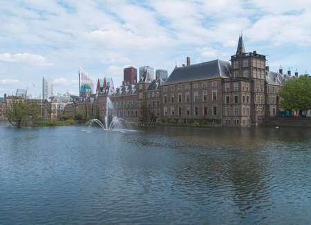Binnenhof  Dutch Parliament in The Hague, Holland