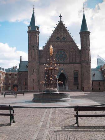 Parlament: Dutch parlament square Ridderzaal at the Binnenhof in The Hague, Netherlands