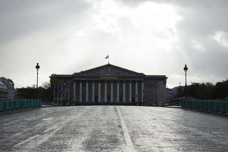 nationale: Assemblee Nationale - the French Parliament in Paris, France Editorial