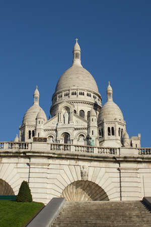 Sacre-Coeur catheral, Paris, France photo