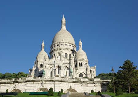 coeur: Sacre-Coeur catheral, Parijs, Frankrijk