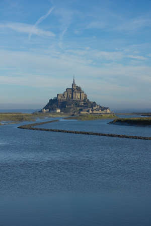 Mont Saint Michel, France  Stock Photo