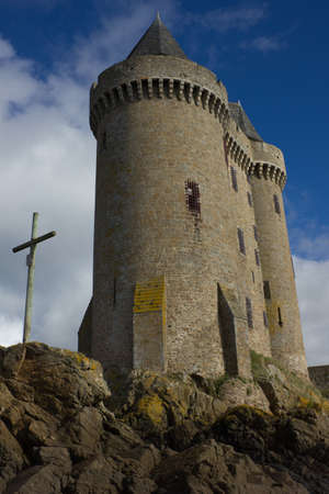 Solidor tower, la tour Solidor, Saint Malo, France Stock Photo - 16961375