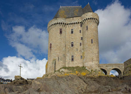 Solidor tower, la tour Solidor, Saint Malo, France Stock Photo - 16961372
