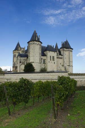 pays: Chateau de Saumur, Loire Valley, France