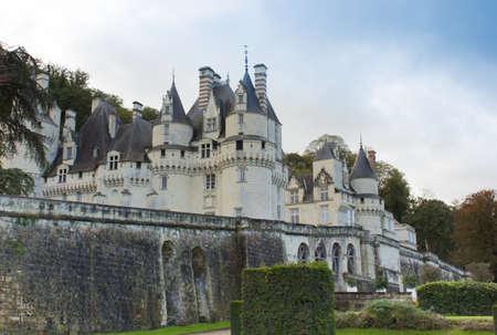 Chateau dUsse (built XV - XVI century) from in Indre-et-Loire department, France.
