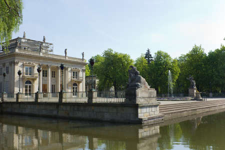 lazienki: Lazenki kings palace, Warsaw, Poland