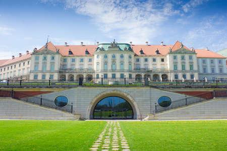 Warschau, Polen. Altstadt - das ber?hmte K?nigsschloss.