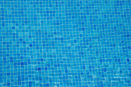 aqua blue tile underwater pool background