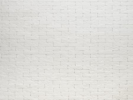Vista del muro di mattoni bianchi texture di sfondo