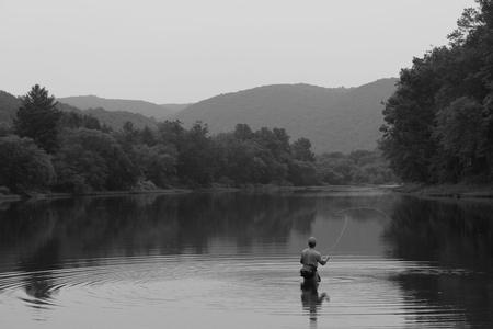 trucha: Pesca con mosca
