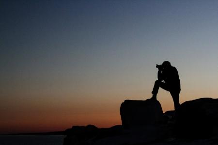 Sunset Photographer Imagens