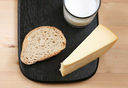 slice of bread Stock Photo