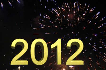 2012 Stock Photo