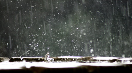 kropla deszczu: deszcz
