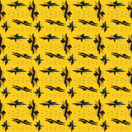TropThis seamless pattern is suitable for fabrics Banque d'images - 144156461