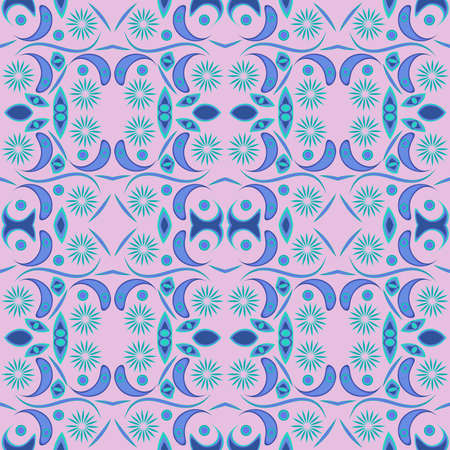 TropThis seamless pattern is suitable for fabrics Banque d'images - 144156495