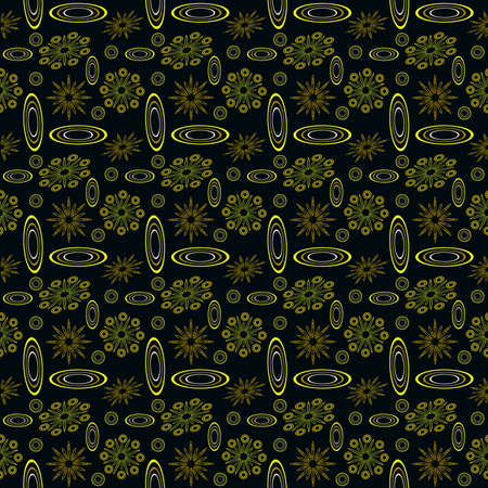 TropThis seamless pattern is suitable for fabrics Banque d'images - 144156557