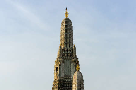 sanctified: Prang of Wat Arun, Temple of Dawn, Bangkok, Thailand