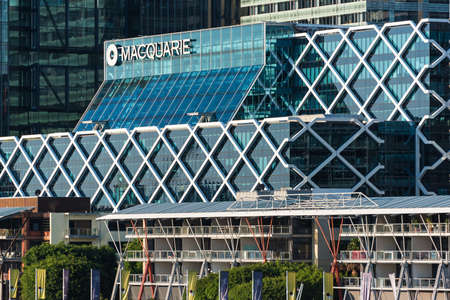 diversified: Sydney, Australia -  Mar 26, 2016: Office building of Macquarie Group which is a global investment banking and diversified financial services group and the largest Australian investment bank Editorial