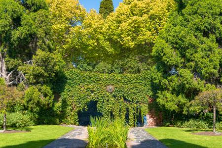 The Pioneer Women s Memorial Garden in the Royal Botanic Gardens in Melbourne, Victoria, Australia Stock fotó