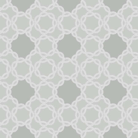 Elegant stylish seamless background with delicate lace pattern. Romantic neutral repeating illustration