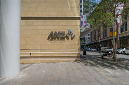 Sydney, Australia - January 26, 2020: ANZ Bank Centre at 161 Castlereagh Street, Sydney, Australia