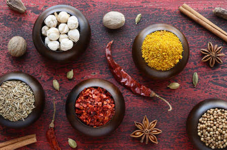 indian spices: