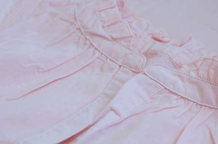 nighty: Piece of vintage woman cotton dress in pastel pink color
