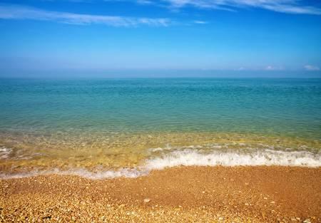 horizont: Sea and sky  Beach  Summer landscape  Stock Photo