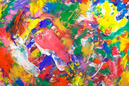 evocative: Impressionist style vintage texture or background