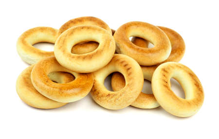 Bagels isolated on a white background photo