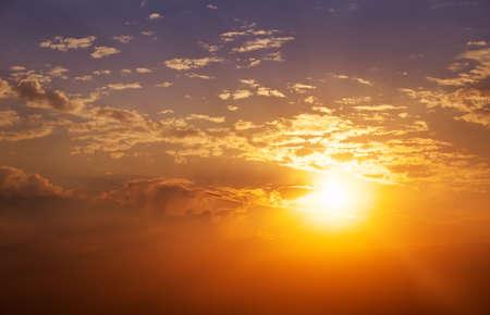 beautiful sky: Beautiful sunset sky. Sky Background. Stock Photo