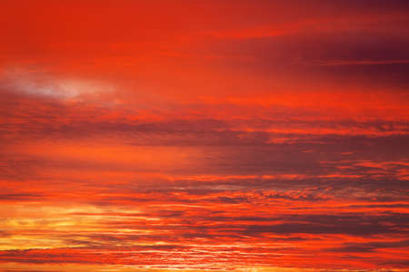 apocalyptic: Bright orange, red and yellow colors sunset sky. Apocalyptic sunset sky Background