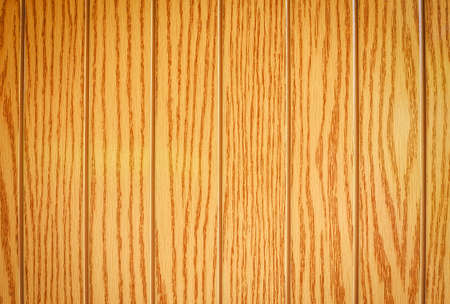 corrugation: Brown plastic material stylized wood texture background. Stock Photo