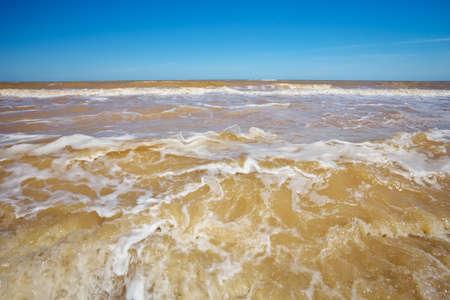 shore: Sea shore. Stock Photo