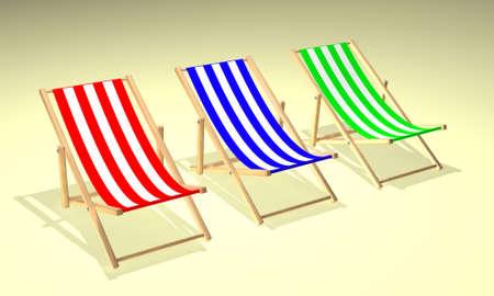 chairs: three chairs