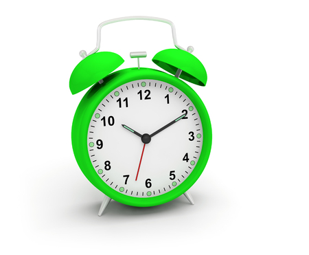 Alarm clock 3D illustration