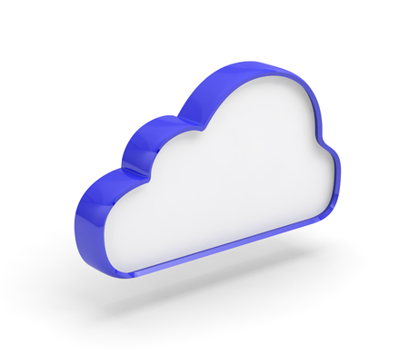 cloud network backup data 3D