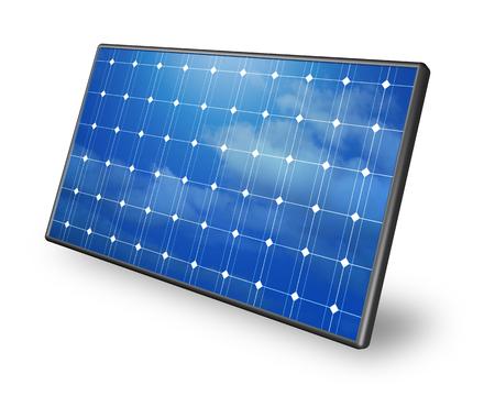 Solarplatten Standard-Bild