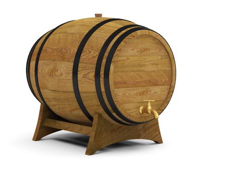 wine barrels alcohol beer barrel Stock Photo