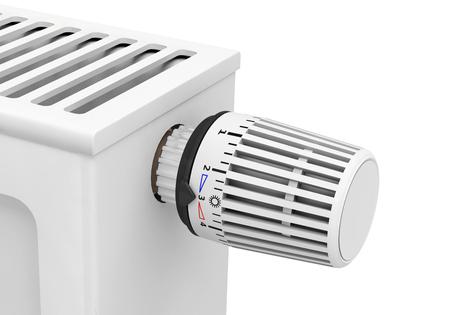 thermostatic radiator valve Foto de archivo - 117352582