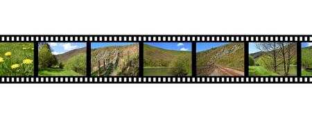 filmstrip negative photo film Foto de archivo - 117352594